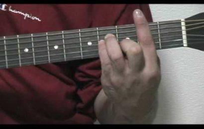 Como fazer a pestana no violão