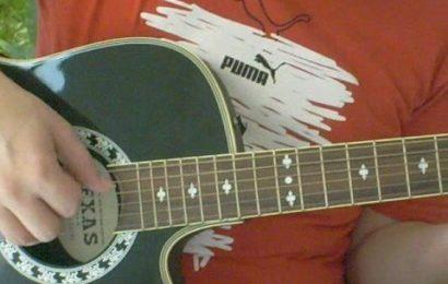 Dedilhados de violão para fundos musicais