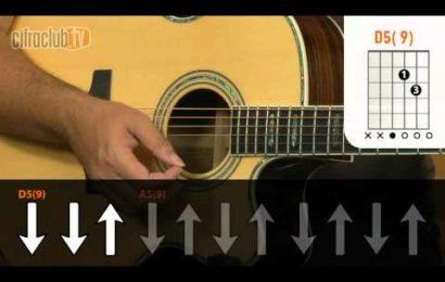 Video aula de Violao – Como Tocar – Arde Outra Vez – Thalles Roberto