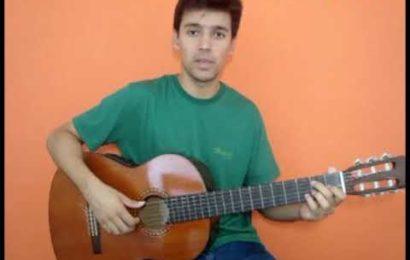 Video aula de violão como tocar o ritmo de baião com a música Asa Branca.