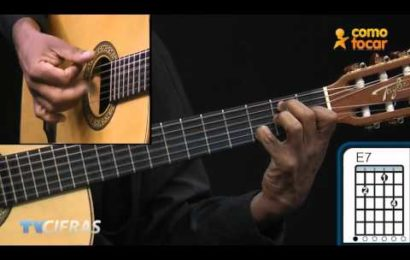 Video aula de violão – Como tocar – A Mi Manera – Gipsy Kings