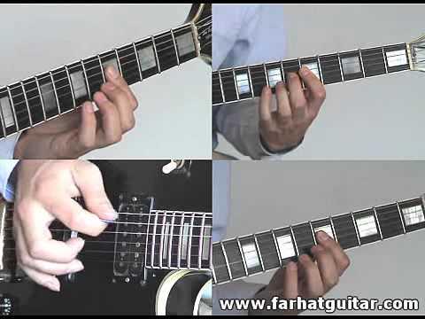 Video aula de guitarra - Como tocar - Hells Bells