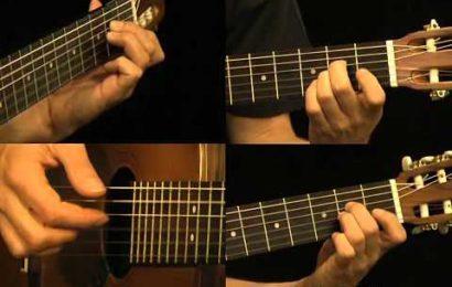 """Video aula de violão e guitarra – como tocar """"Unforgiven"""" – Metállica – Partes 1 a 8"""