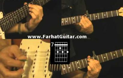 Video aula de guitarra – como tocar Hotel California – Parte 1 e 2