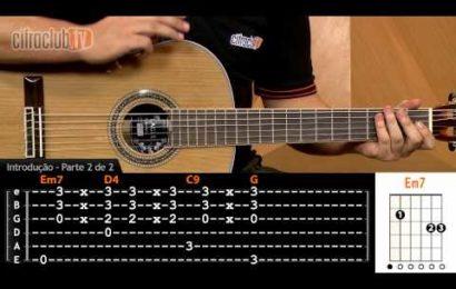 """Video aula de violão – Como Tocar a Música – """"Meu Abandono"""" – Rosa de Saron"""