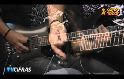 """Video aula de violão e guitarra – Como Tocar a música – """"Fade To Black"""" – Metallica"""