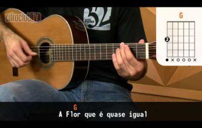 Video aula de violão – Como tocar Meu Abandono – Rosa de Saron (Versão completa)