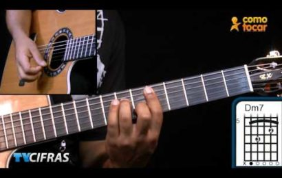 Video aula de violao – como tocar a musica – Boa Noite – Djavan