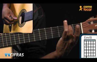 Video aula de violão – Como Tocar – Faltando um pedaço – Djavan