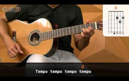 Video aula de violão – Como Tocar – Na Rua, Na Chuva, Na Fazenda – Kid Abelha