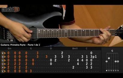Video aula de guitarra – Como Tocar a Música – The Trooper – Iron Maiden