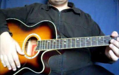Video aula de violão sobre o ritmo de Balada
