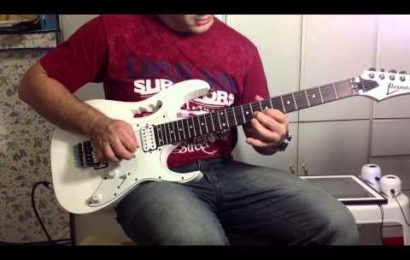 Video aula de guitarra com a musica Ninguem Pode Apagar – David Sacer