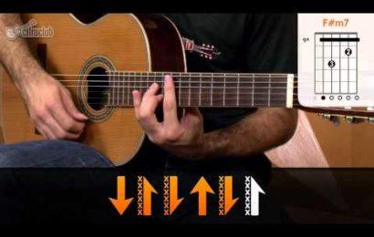 Video aula de violão com a musica Encontrar Alguém – Jota Quest
