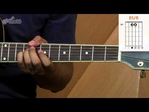 Video aula de violão com a música No Pressure Over Cappucino