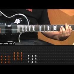 Video aula de guitarra com a musica Whiskey In The Jar – Metallica