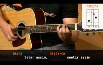 Aula de violão com a música Sensações – Paula Fernandes