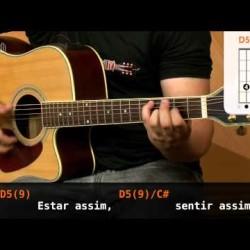 Aula de violao com a musica This Love – Maroon 5