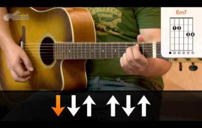 Aula de violão com a música Por Que Não Eu – Leoni