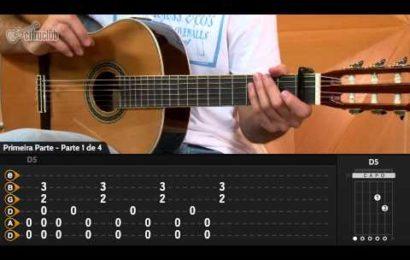 Aula de violão – Como tocar 93 Million Miles – Jason Mraz
