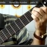 Aula de violão – Formação de acordes – Parte 13