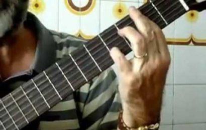 Aula de violão – Formação de acordes – Parte 14