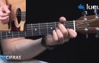 Video aula de violão – Como Tocar a Música Ursinho de Dormir – Armandinho
