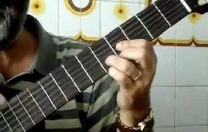 Aula de violão – formação de acordes – Parte 4