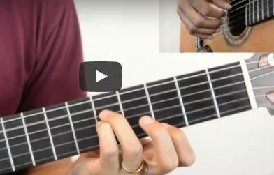 Video aulas de violão sobre ritmos brasileiros – partido alto